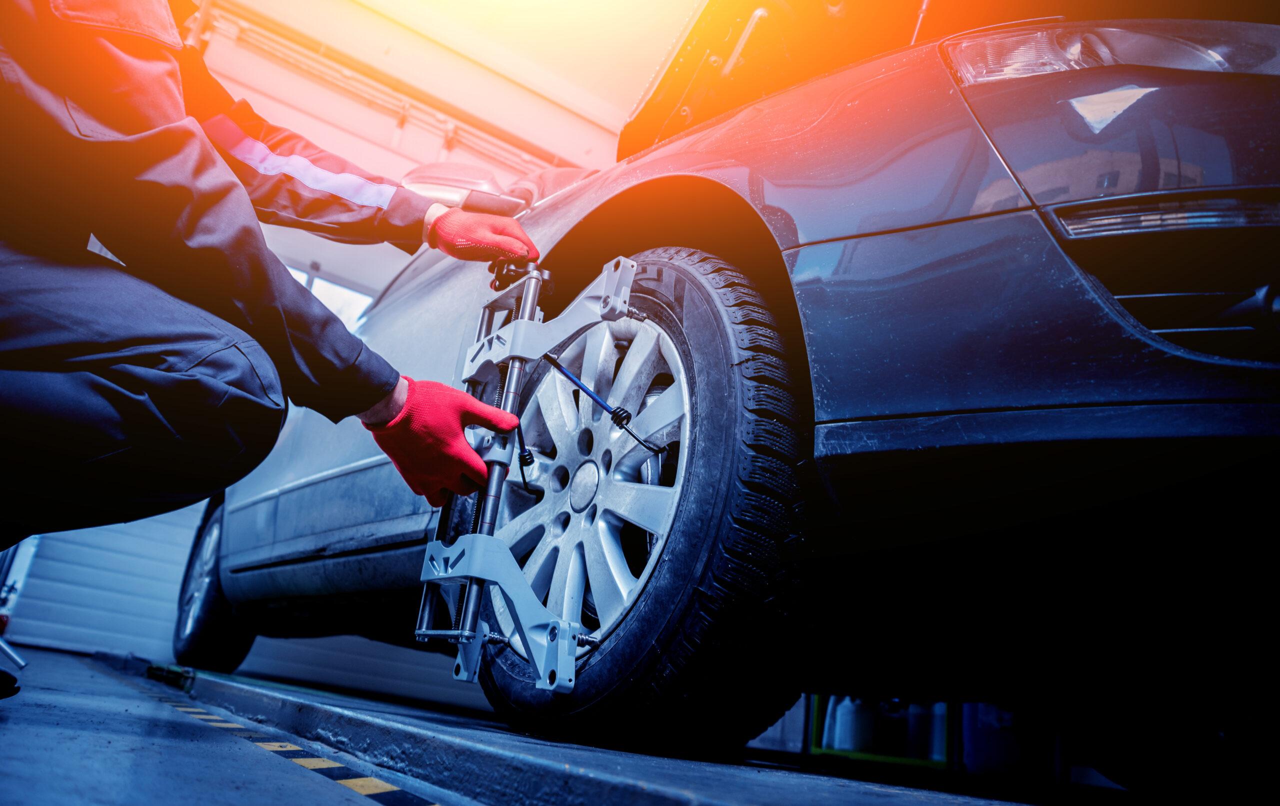 auto uitlijnen garage hoogervorst